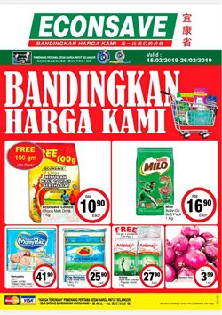 Offers from Econsave in the Petaling Jaya leaflet