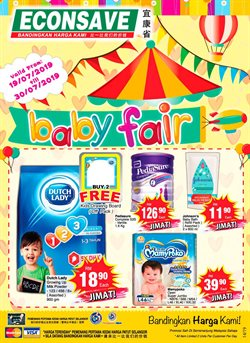 Offers from Econsave in the Putrajaya leaflet