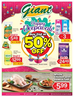 Supermarkets offers in the Giant catalogue in Melaka
