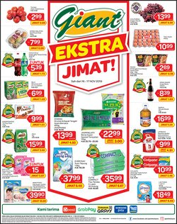 Offers from Giant in the Johor Bahru leaflet