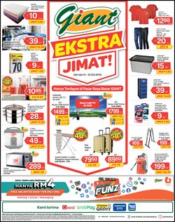 Supermarkets offers in the Giant catalogue in Kota Bharu