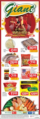Supermarkets offers in the Giant catalogue in Shah Alam
