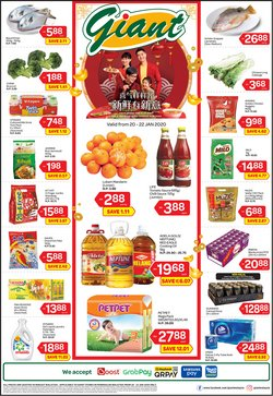 Offers from Giant in the Klang leaflet