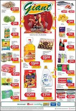 Supermarkets offers in the Giant catalogue in Seremban