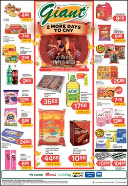 Supermarkets offers in the Giant catalogue in Ipoh