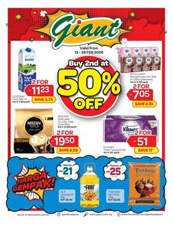 Giant catalogue in Petaling Jaya ( 7 days left )