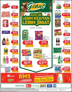 Supermarkets offers in the Giant catalogue in Sunway-Subang Jaya  ( Expires tomorrow )