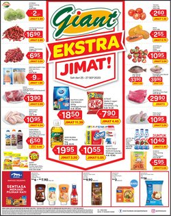 Supermarkets offers in the Giant catalogue ( Expires tomorrow )