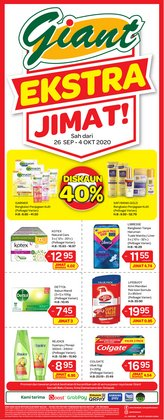 Supermarkets offers in the Giant catalogue in Kajang-Bangi ( 3 days ago )
