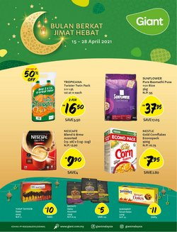 Ramadan offers in Giant catalogue ( 6 days left)