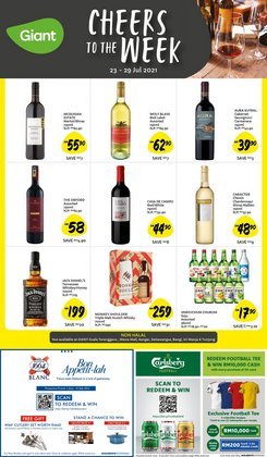 Supermarkets offers in Giant catalogue ( Published today)