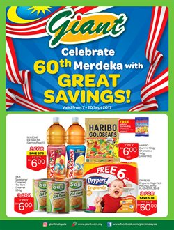 Offers from Giant in the Kuantan leaflet