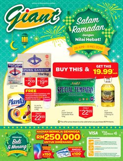 Offers from Giant in the Ipoh leaflet