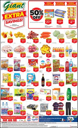 Offers from Giant in the Kuching leaflet
