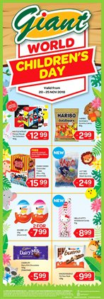 Supermarkets offers in the Giant catalogue in Johor Bahru