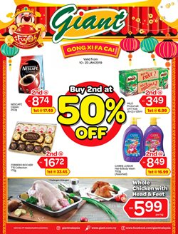 Offers from Giant in the Penang leaflet