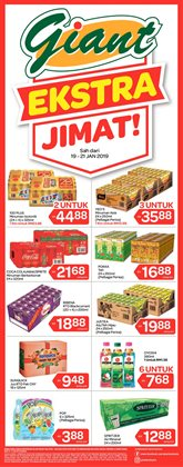 Supermarkets offers in the Giant catalogue in Kuala Lumpur