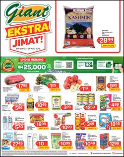Offers from Giant in the Shah Alam leaflet