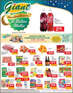 Supermarkets offers in the Giant catalogue in Kajang-Bangi