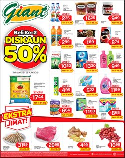 Supermarkets offers in the Giant catalogue in Petaling Jaya