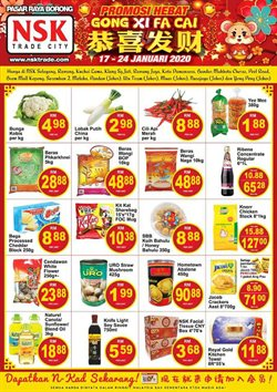 Offers from NSK TRADE CITY in the Kuala Lumpur leaflet