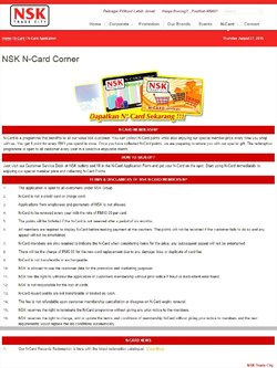 Offers from NSK Supermarket in the Kuala Lumpur leaflet