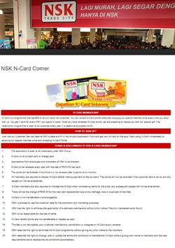 Offers from NSK TRADE CITY in the Petaling Jaya leaflet