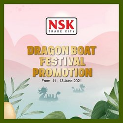 Supermarkets offers in NSK TRADE CITY catalogue ( Expires today)
