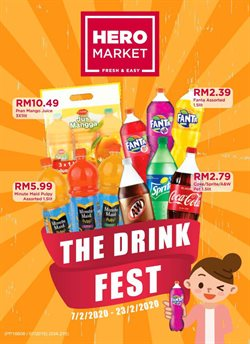 Hero Supermarket catalogue in Kuala Lumpur ( Expires today )