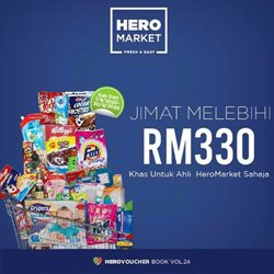 Hero Supermarket catalogue in Klang ( Expires today )