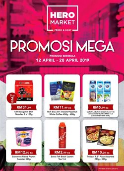 Offers from Hero Supermarket in the Sunway-Subang Jaya  leaflet