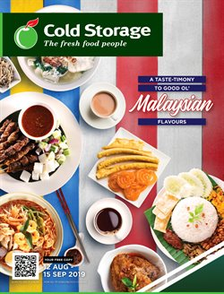 Offers from Cold Storage in the Johor Bahru leaflet