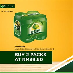 Offers from Cold Storage in the Petaling Jaya leaflet