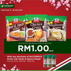 Offers from Cold Storage in the Kuching leaflet