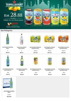 Offers from Jaya Grocer in the Kuala Lumpur leaflet