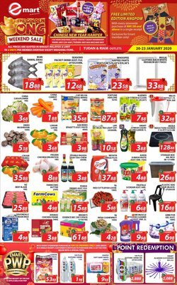 Offers from Emart in the Miri leaflet