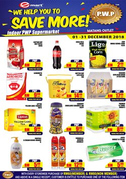 Offers from Emart in the Kuching leaflet