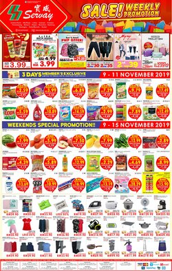 Offers from Servay Hypermarket in the Kota Kinabalu leaflet