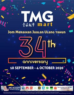 TMG Mart catalogue ( 9 days left )