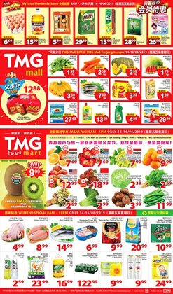 Offers from TMG Mart in the Kuantan leaflet
