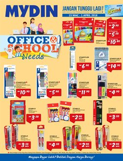 Offers from Mydin WholeSale Hypermarket in the Kuching leaflet