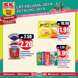 Offers from KK Super Mart in the Putrajaya leaflet