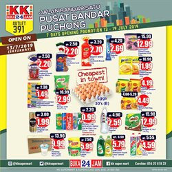 Offers from KK Super Mart in the Klang leaflet