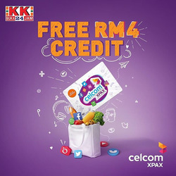 KK Super Mart coupon ( More than a month)