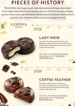 Offers from Godiva in the Kuala Lumpur leaflet