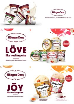 Offers from Häagen-Dazs in the Kuala Lumpur leaflet