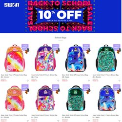 Back to School offers in Swan catalogue ( 1 day ago)
