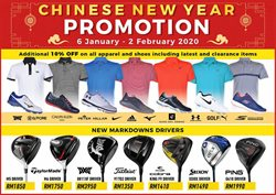 Sport offers in the MST Golf catalogue in Ipoh