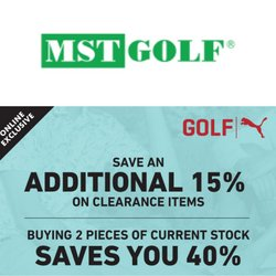 MST Golf offers in MST Golf catalogue ( 12 days left)
