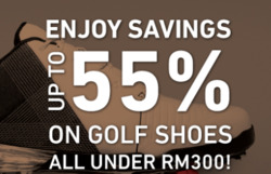Offers from MST Golf in the Kuala Lumpur leaflet